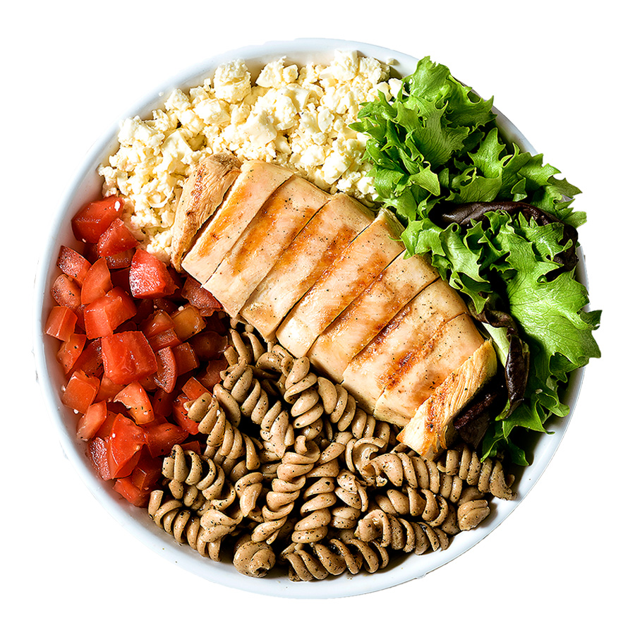 BOWL FUSILLI INTEGRAL BOWLS saudáveis franquia de alimentação saudável Boali