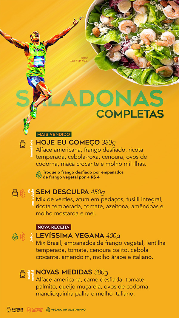 Saladas Saudáveis e Deliciosas BOALI