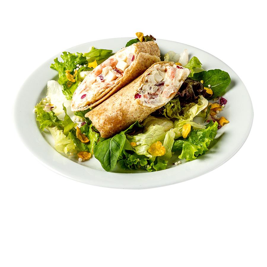 Wrap_camarão wraps saudáveis franquia alimentação saudável Boali