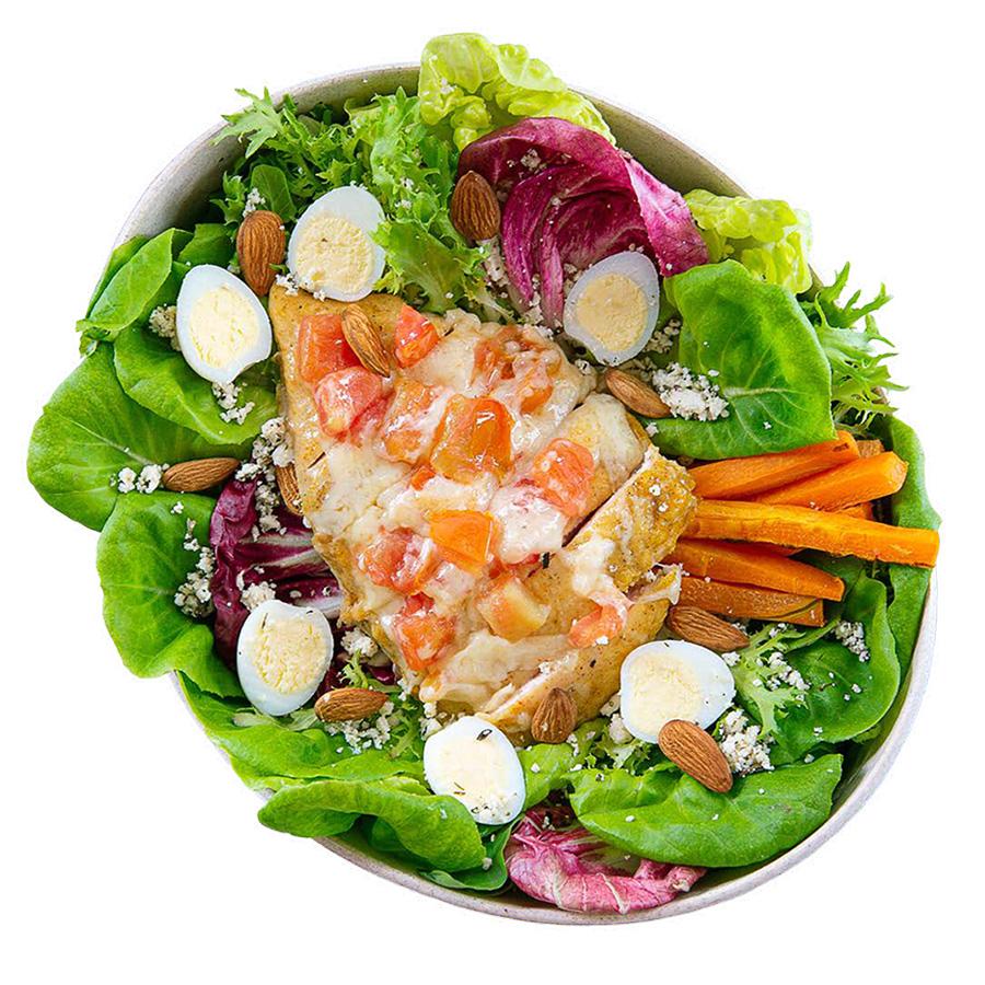 salada chicken parm boali franquia alimentação saudável