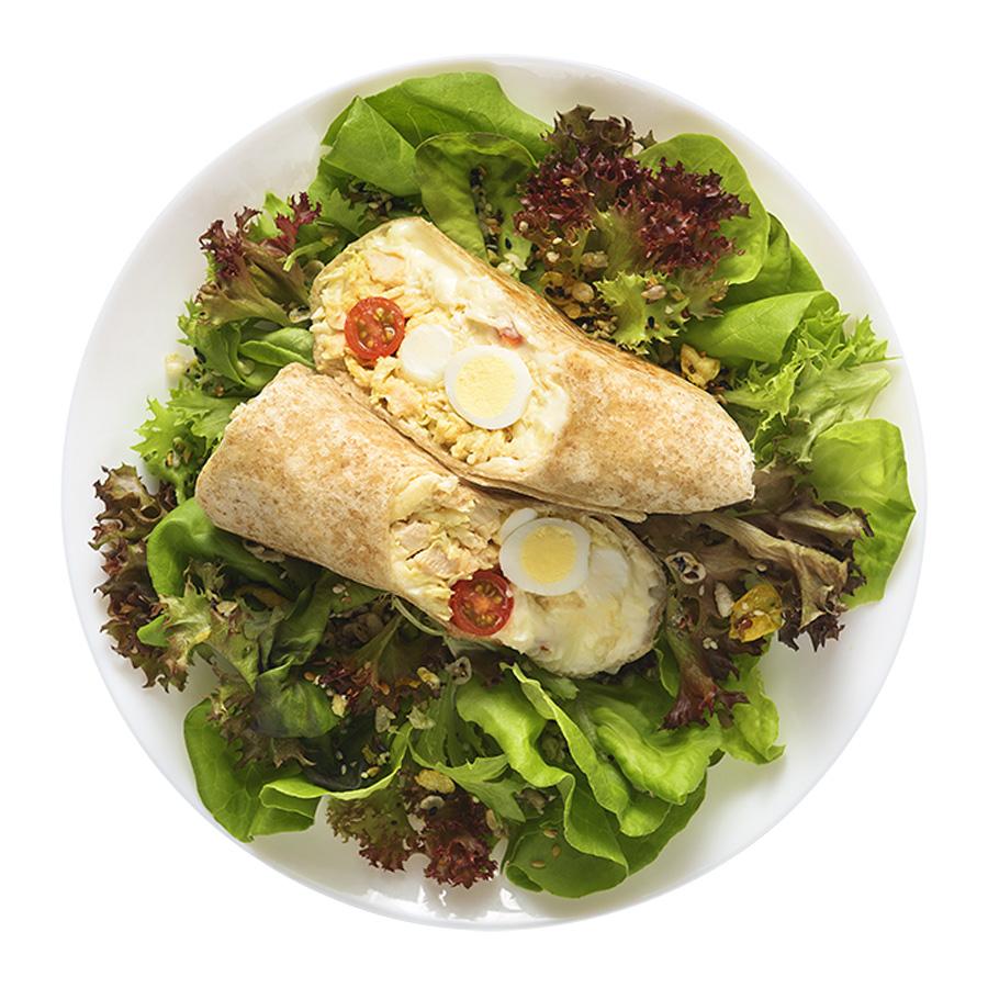 wrap frango picante quente wraps saudáveis franquia alimentação saudável Boali